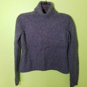 Turtleneck cozy sweater.